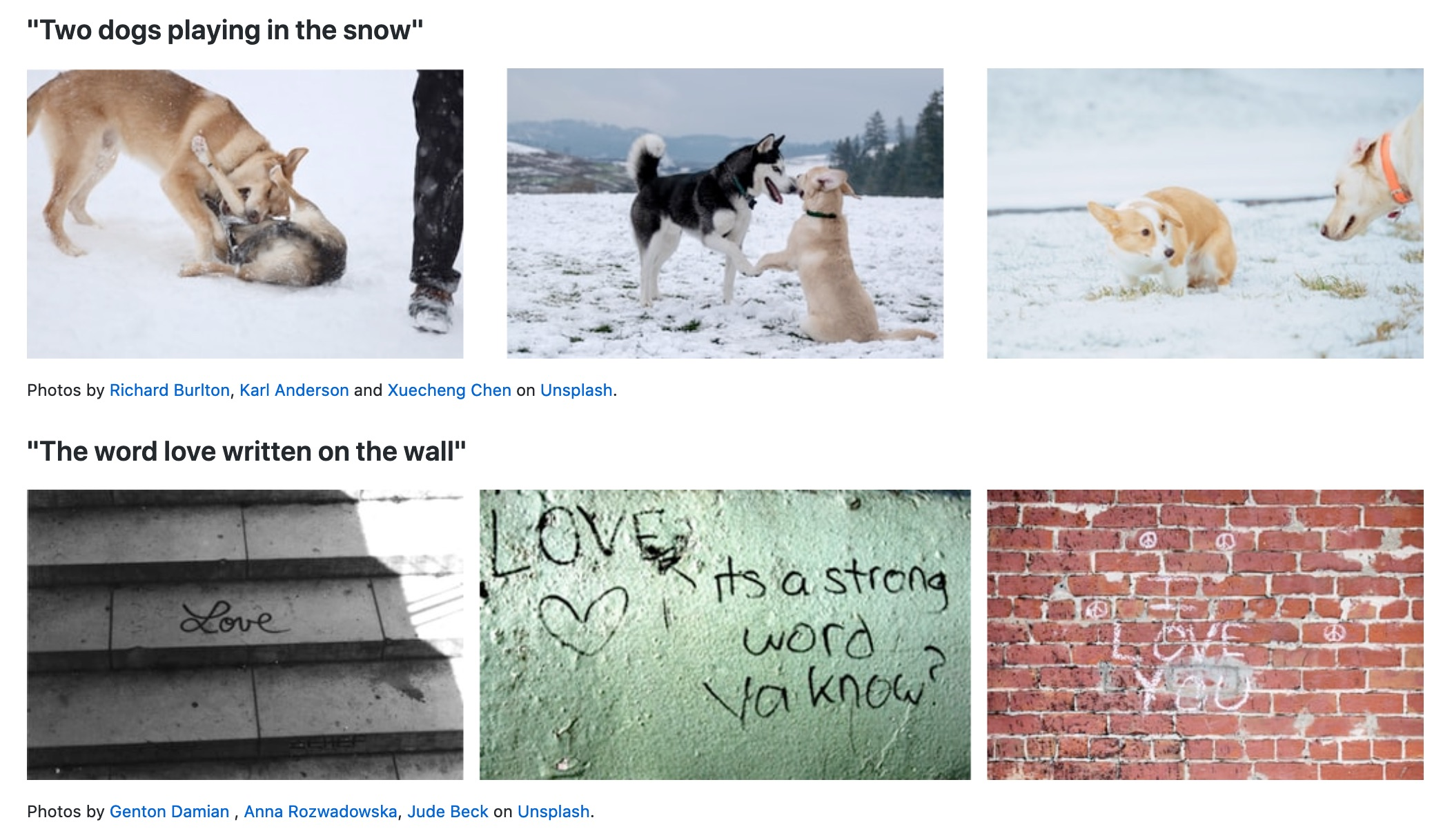 Natural Language Image Search Project