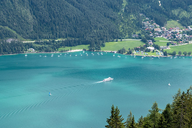 Ferry on the Achensee lake