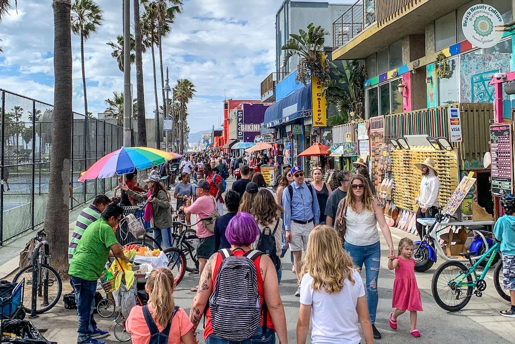 Venice Beach USA Photo Collection